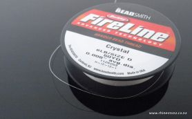 FireLine Bead Thread Crystal 6LB/Size D - 50 yard Roll
